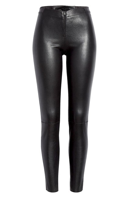 Item - Black with Tag Leather Leggings Size 4 (S, 27)