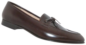 J.Crew Loafers Leather Bow brown Flats