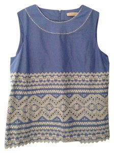 Tory Burch Top Blue