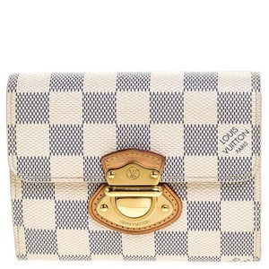 Louis Vuitton Louis Vuitton Damier Azur Canvas Joey Compact Wallet