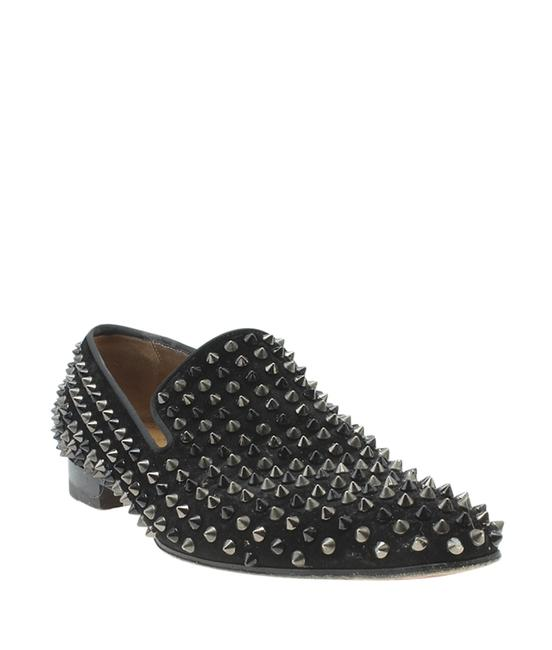 Item - Black Dandelion Spik Velour (178834) Flats Size US 12.5 Regular (M, B)