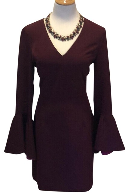 Item - Purple Morgan Italian Cady Short Night Out Dress Size 12 (L)