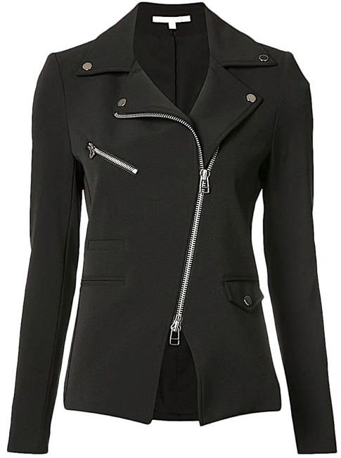 Item - Black with Tag Scuba Hadley Zip-front Jacket Size 4 (S)