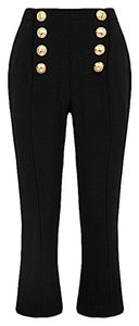 Balmain Capri/Cropped Pants black with tag