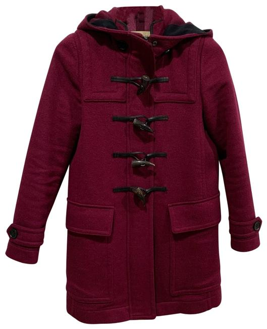 Item - Dark Burgundy Duffle Wool Coat Size 0 (XS)