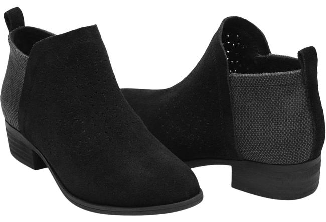 Item - Black Gray Deia Suede 10w Boots/Booties Size US 10 Wide (C, D)