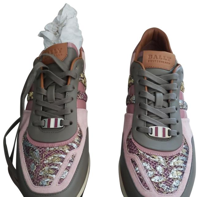 Item - Multi Color Women Asyia Gild/Silv. Synthetic Fabr. Sneakers Size US 10.5 Regular (M, B)