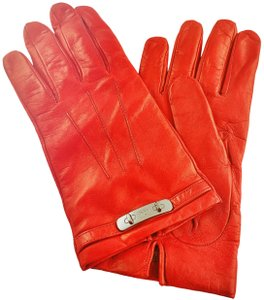 Coach NWT Coach Soft Nappa Leather Black Cherry Swagger Driving Gloves, 8