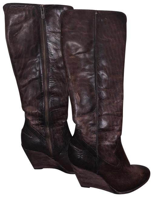 Item - Brown Cece Seam Tall Boots/Booties Size US 7.5 Regular (M, B)