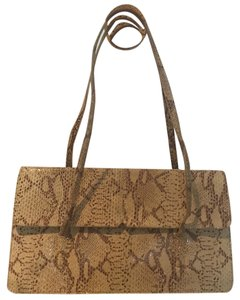Alfani Satchel in Brown/Beige