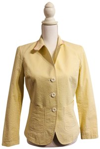 Kenar Jacket Size 2 Yellow, white Blazer