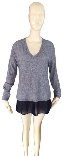 Item - Blue and Navy Blouse Size 12 (L)
