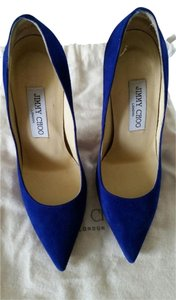Jimmy Choo Cobalt Blue Pumps