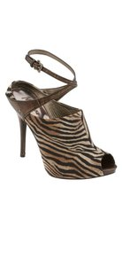Marciano Brown/Cream/Bronze Platforms