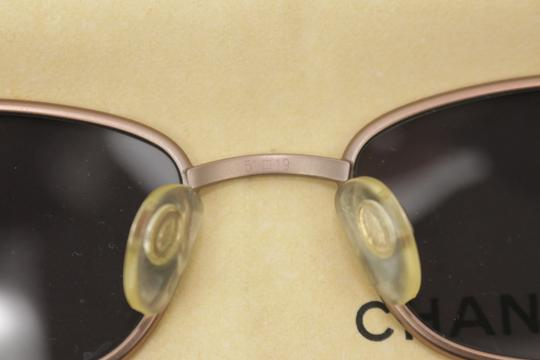 Chanel Rose Gold Brass Sunglasses 8CK1203 Image 10