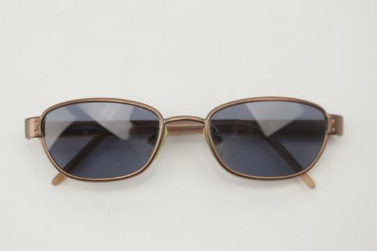 Chanel Rose Gold Brass Sunglasses 8CK1203 Image 3