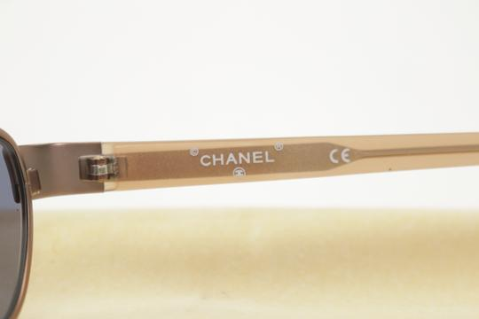 Chanel Rose Gold Brass Sunglasses 8CK1203 Image 4
