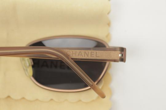 Chanel Rose Gold Brass Sunglasses 8CK1203 Image 6