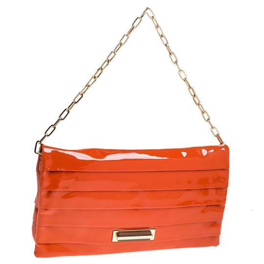 Anya Hindmarch Suede Patent Leather Chain Shoulder Bag Image 3