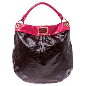 Marc by Marc Jacobs Patent Leather Classic Hobo Bag