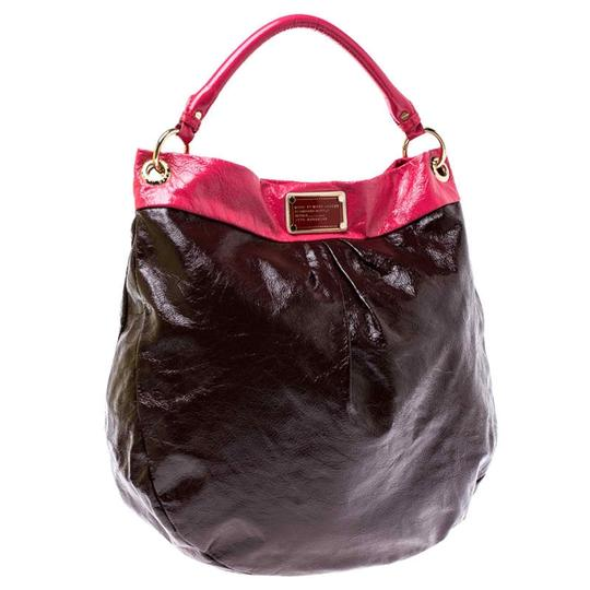 Marc by Marc Jacobs Patent Leather Classic Hobo Bag Image 1