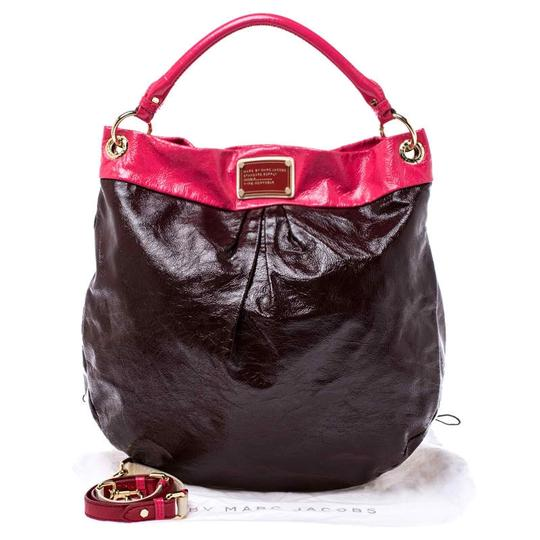 Marc by Marc Jacobs Patent Leather Classic Hobo Bag Image 10