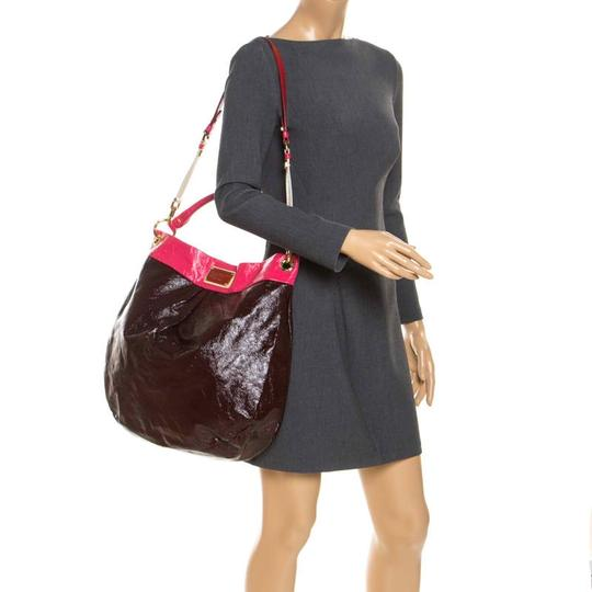 Marc by Marc Jacobs Patent Leather Classic Hobo Bag Image 2