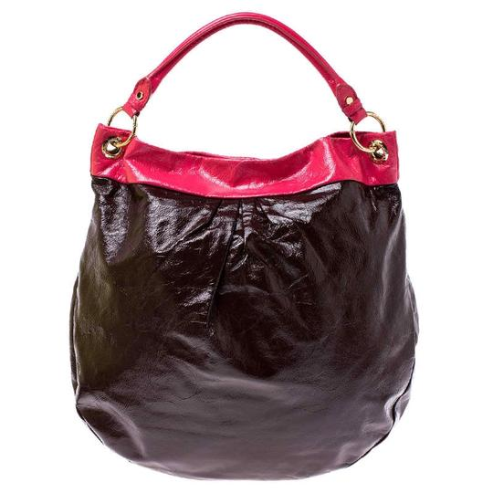 Marc by Marc Jacobs Patent Leather Classic Hobo Bag Image 3