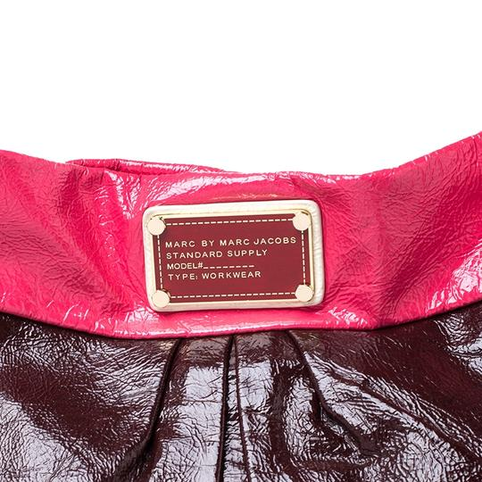 Marc by Marc Jacobs Patent Leather Classic Hobo Bag Image 5