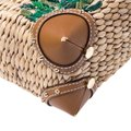 Michael Kors Leather Embroidered Beaded Tote in Brown Image 10