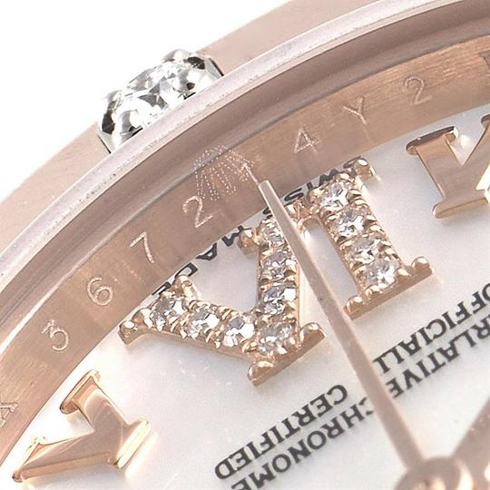 Rolex Rolex Pearlmaster Rose Gold MOP Diamond Ladies Watch 80315 Box Image 7