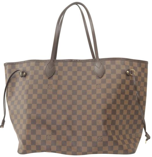 Preload https://img-static.tradesy.com/item/26471530/louis-vuitton-neverfull-damier-ebene-gm-11lk1203-brown-coated-canvas-tote-0-1-540-540.jpg