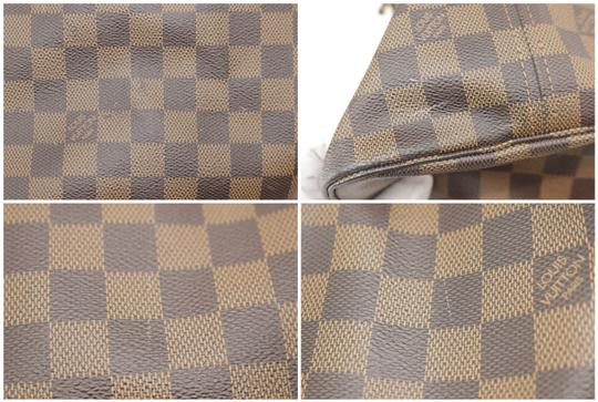 Louis Vuitton Neverfull Xl Gm Large Checkered Tote in Brown Image 10