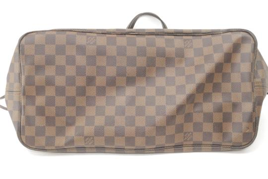 Louis Vuitton Neverfull Xl Gm Large Checkered Tote in Brown Image 4
