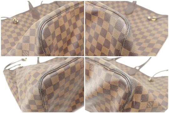 Louis Vuitton Neverfull Xl Gm Large Checkered Tote in Brown Image 8