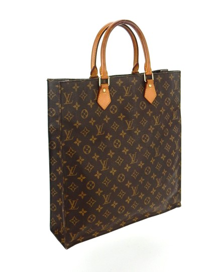 Preload https://img-static.tradesy.com/item/26471531/louis-vuitton-sac-plat-gm-shopper-brown-monogram-canvas-leather-tote-0-0-540-540.jpg