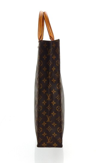 Louis Vuitton Sac Plat Monogram Vintage Tote in Brown Image 4