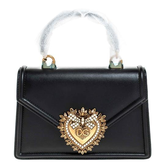 Preload https://img-static.tradesy.com/item/26471553/dolce-and-gabbana-top-handle-dolce-and-gabbana-small-devotion-black-leather-shoulder-bag-0-0-540-540.jpg