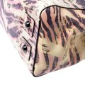 Mulberry Leather Suede Print Patent Leather Satchel in Multicolor Image 10