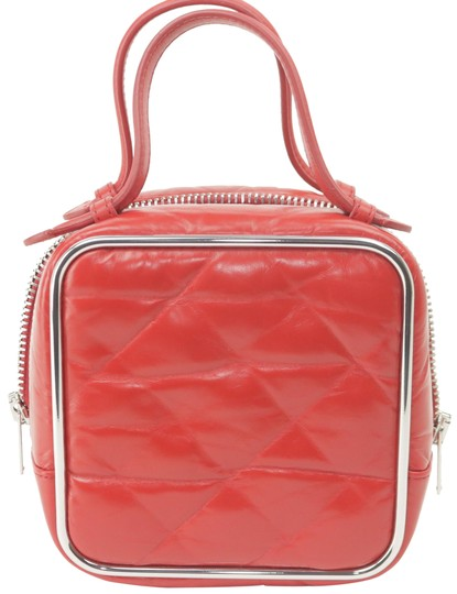 Preload https://img-static.tradesy.com/item/26471577/alexander-wang-quilted-16ak1203-red-leather-satchel-0-1-540-540.jpg