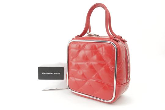 Alexander Wang Lunchbox Hola Square Trunk Mini Satchel in Red Image 1
