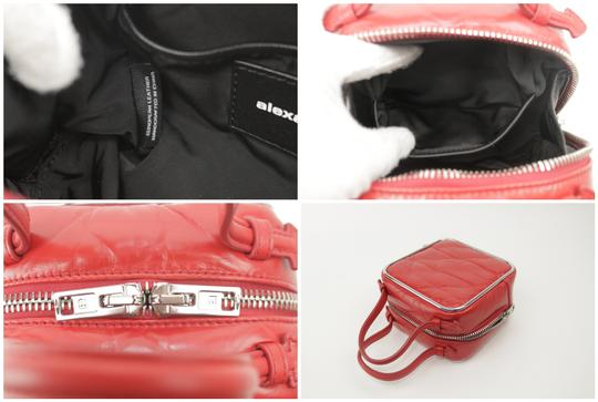 Alexander Wang Lunchbox Hola Square Trunk Mini Satchel in Red Image 2