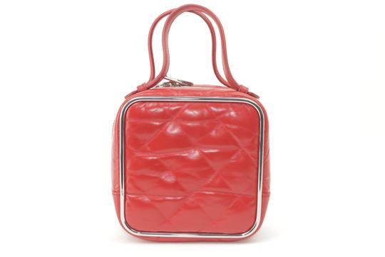 Alexander Wang Lunchbox Hola Square Trunk Mini Satchel in Red Image 5