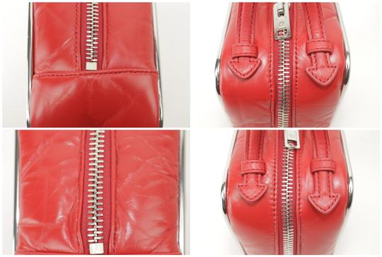 Alexander Wang Lunchbox Hola Square Trunk Mini Satchel in Red Image 6
