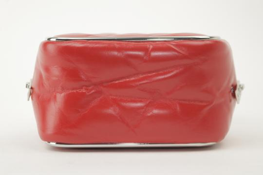 Alexander Wang Lunchbox Hola Square Trunk Mini Satchel in Red Image 7