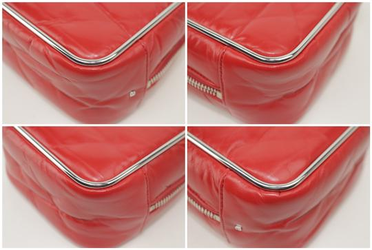 Alexander Wang Lunchbox Hola Square Trunk Mini Satchel in Red Image 8