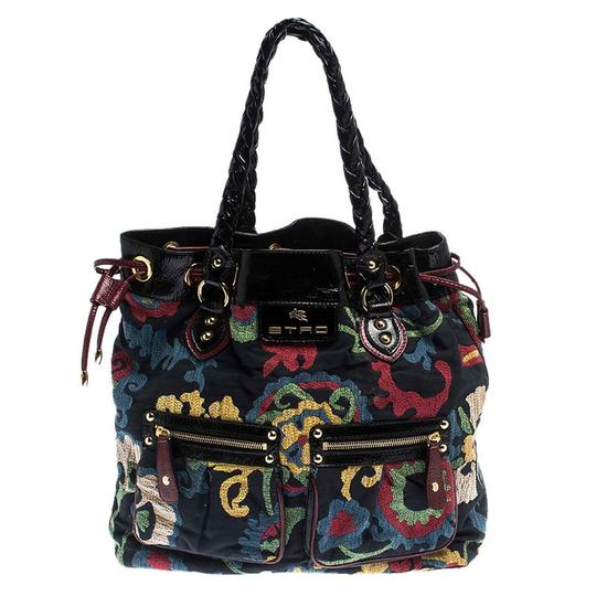 Preload https://img-static.tradesy.com/item/26471624/etro-floral-print-multicolor-canvas-and-patent-leather-tote-0-0-540-540.jpg