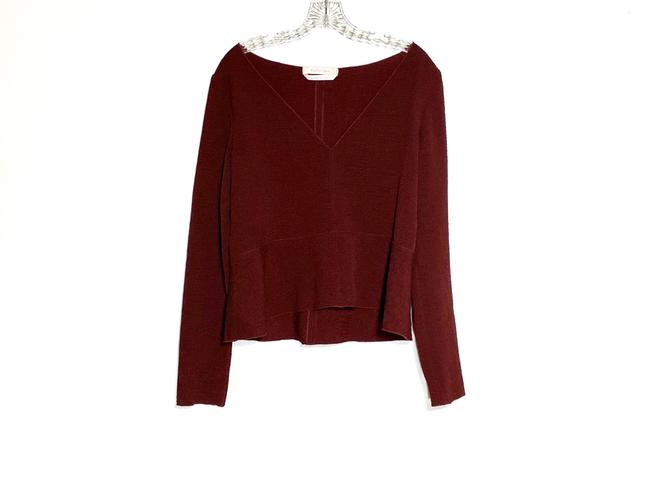 See by Chloé Top Burgundy Image 1