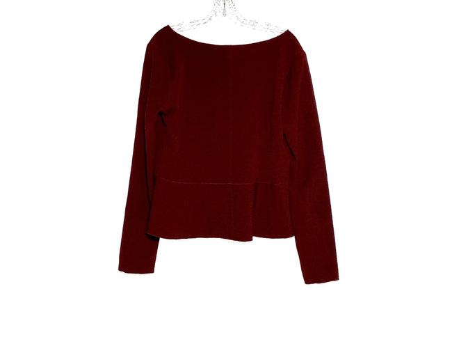 See by Chloé Top Burgundy Image 2