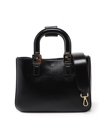 Preload https://img-static.tradesy.com/item/26471649/fendi-spk-gloria-small-black-leather-shoulder-bag-0-0-540-540.jpg